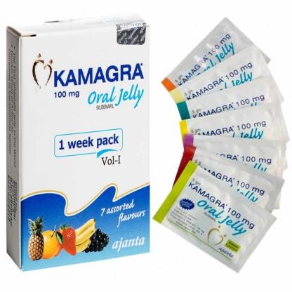 Виагра гель: купить Kamagra Oral Jelly в Украине
